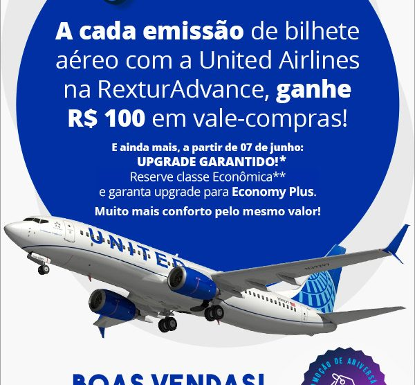 Campanha United Airlines (RexturAdvance)